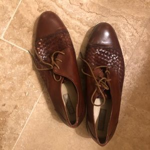 Cole Haan women's dress shoes, dark brown, Sz 8.5
